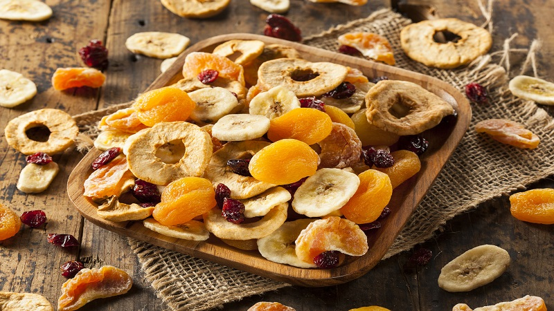 cos'è la frutta disidratata