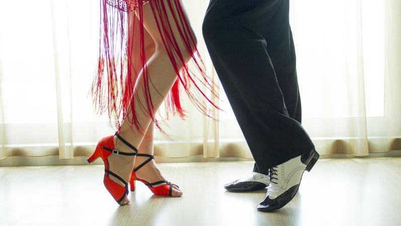 scarpe da ballo latino americano per uomo