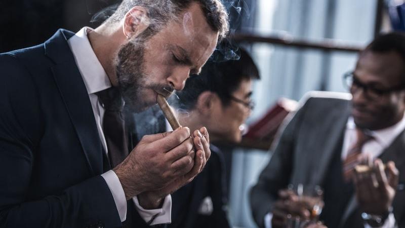 cigar corner di matrimonio
