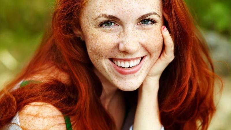 Colore di capelli rossi