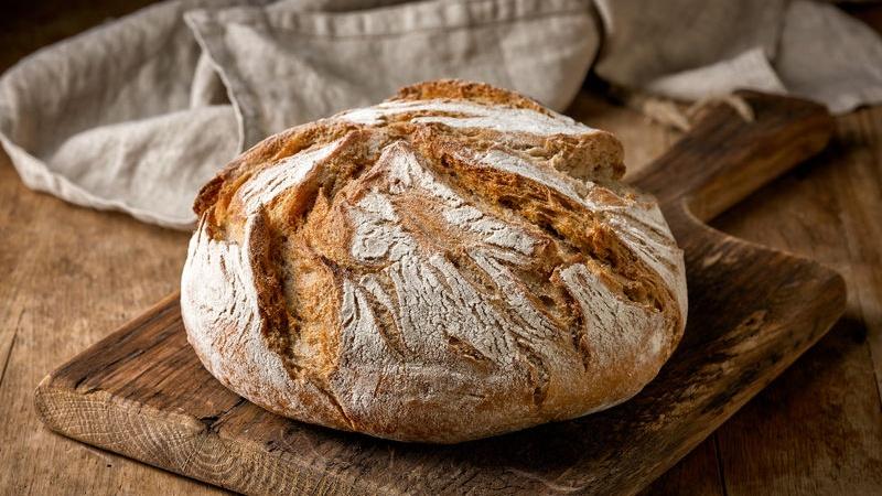 tutti gli ingredienti del pane