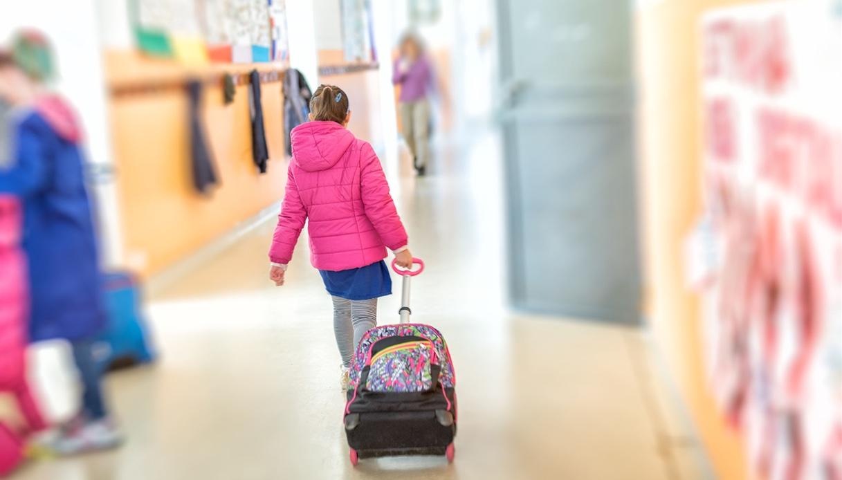 Zaino trolley: perfetto per andare alle elementari