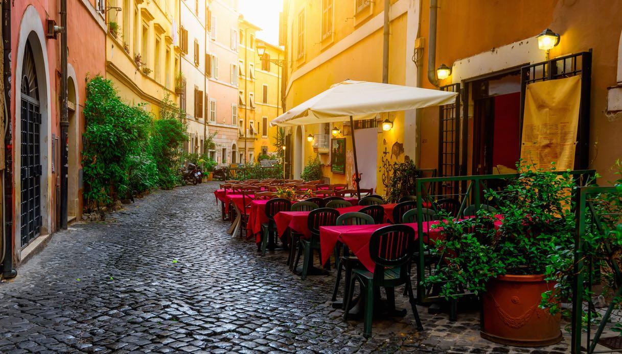 Roma, ristoranti con dehors