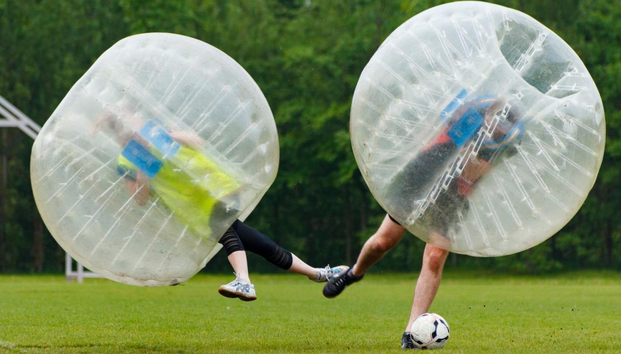 Dove giocare a bubble football a Roma?