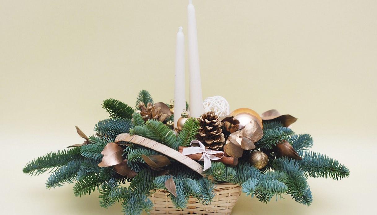 Come fare un Centrotavola fai da te per Capodanno