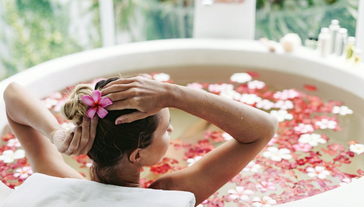 Scopri i fiori perfetti per un bagno di relax