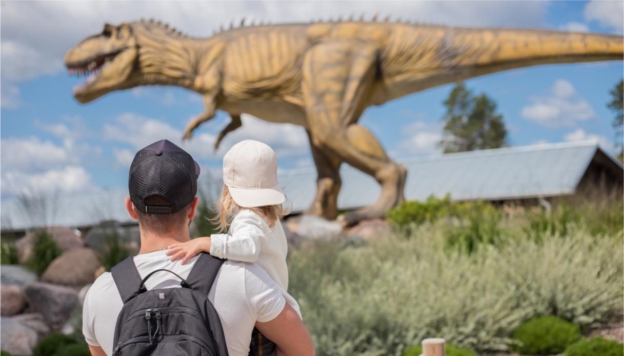 parchi dinosauri, tutti gli indirizzi