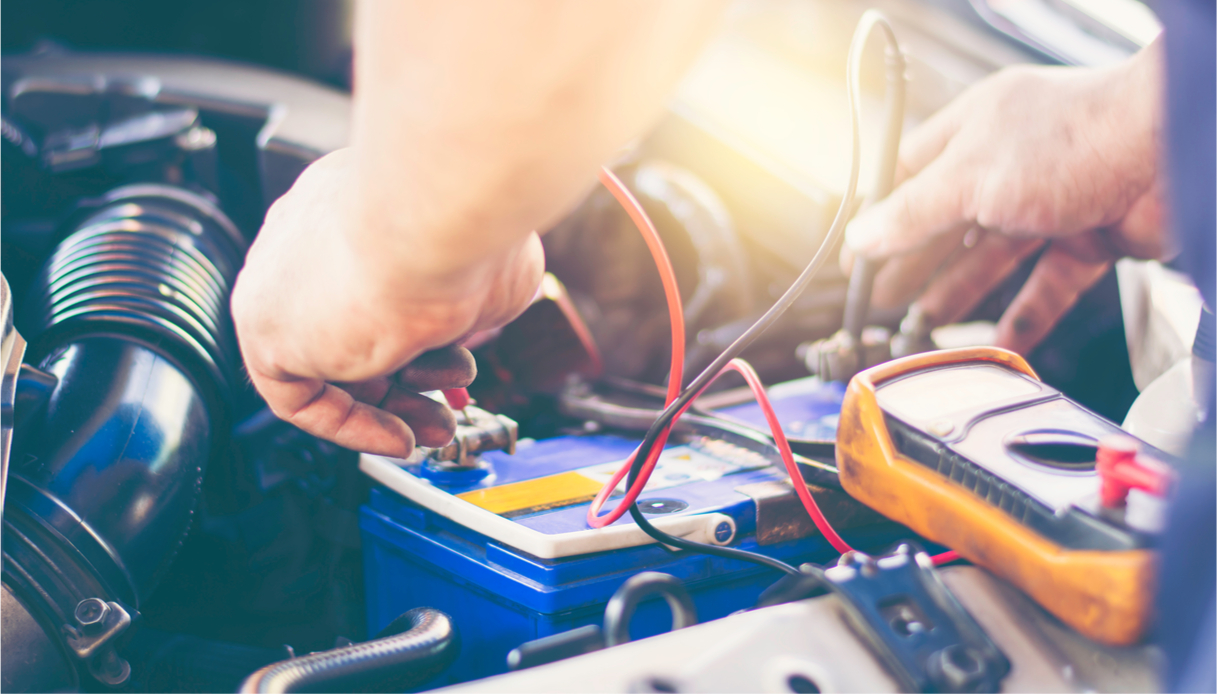 batteria auto scarica, soluzioni