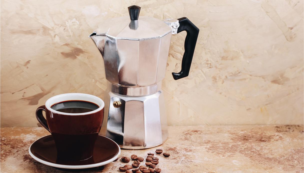 caffè con la moka