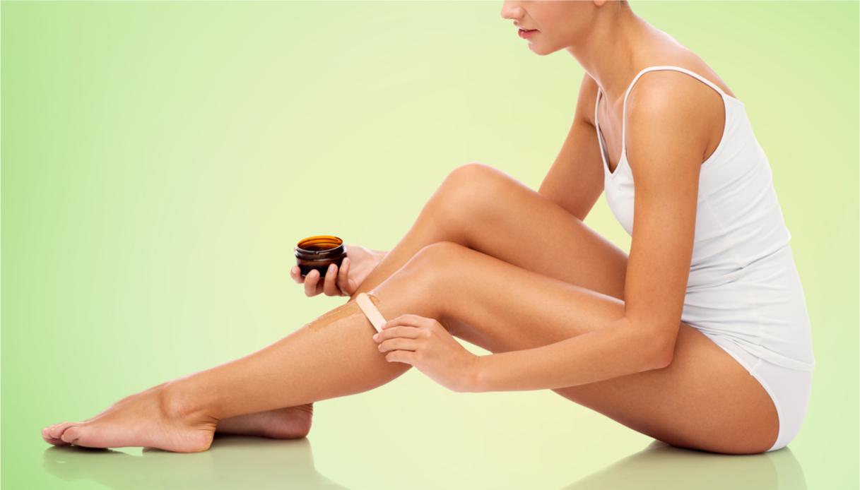 depilazione gambe in estate