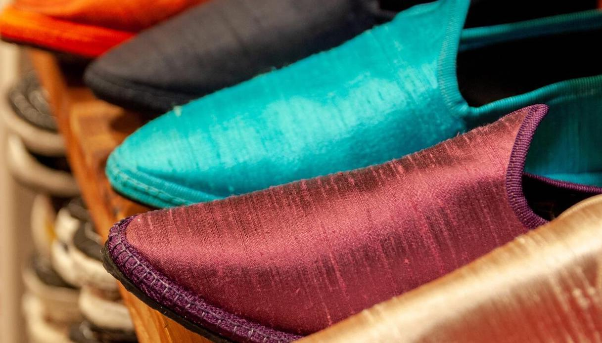 scarpe friulane colorate