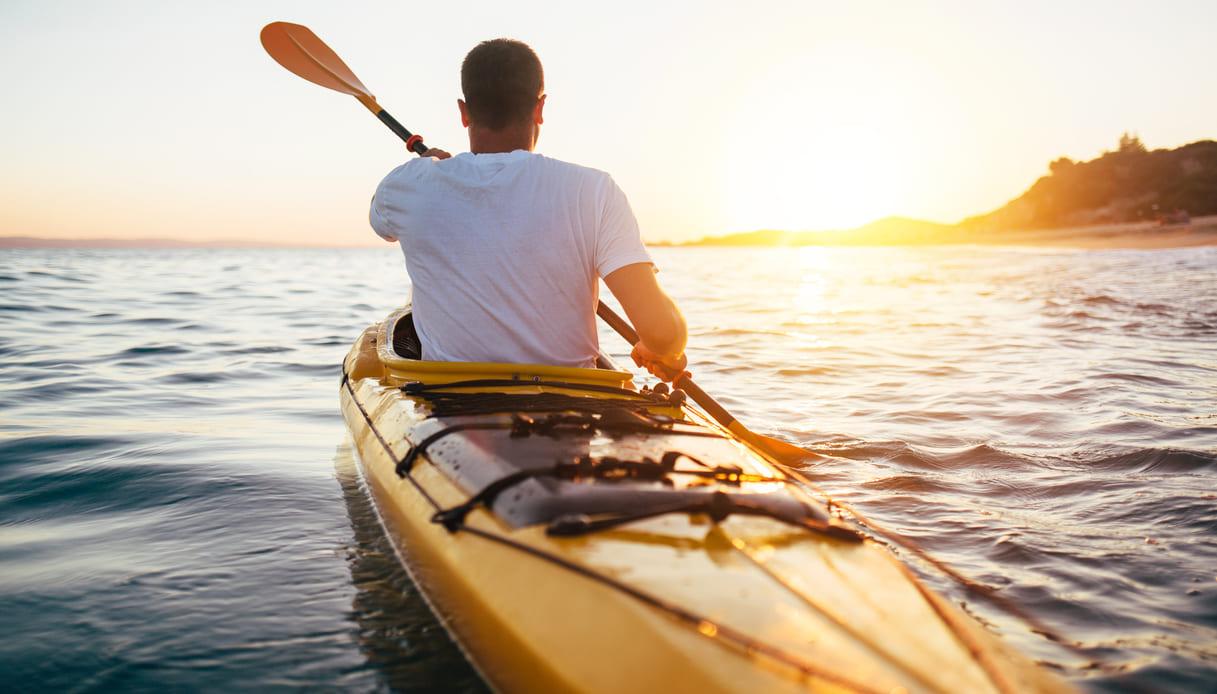 canoa mare consigli