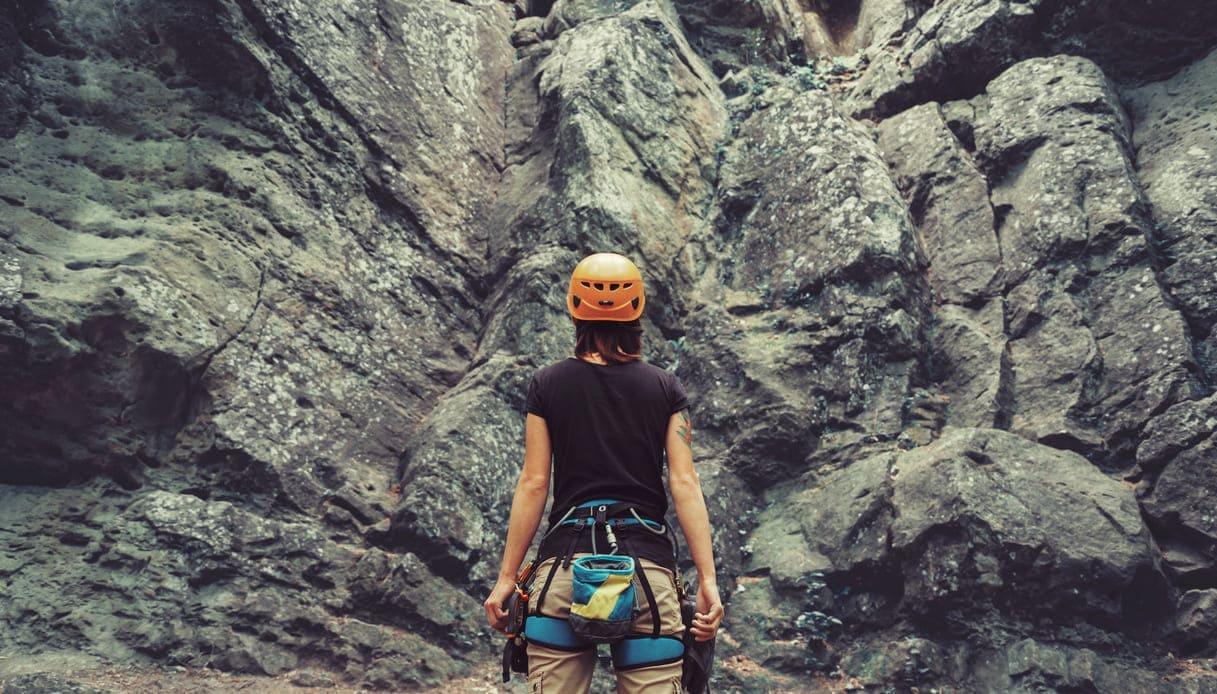 casco da arrampicata