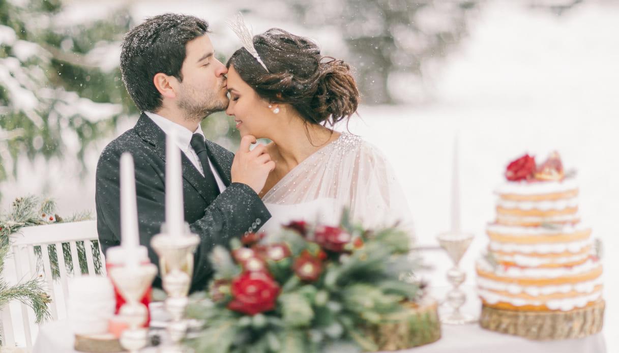menù per matrimonio invernale