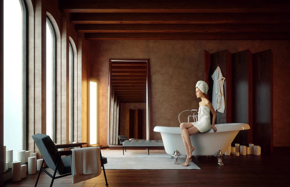 Vasca Da Bagno Retro : Vasche da bagno free standing: una scelta moderna ma dal gusto retrò