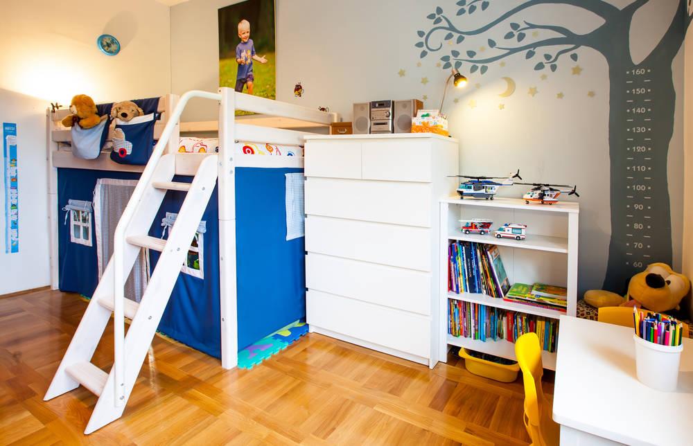 Mobili Per Bambini In Legno : Legno naturale tante idee per arredare la cameretta dei bambini