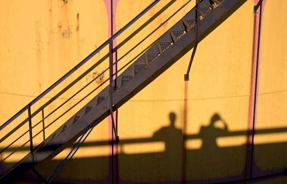 Scale Esterne In Ferro E Legno.Scale In Ferro Una Soluzione Per L Esterno Su Misura O
