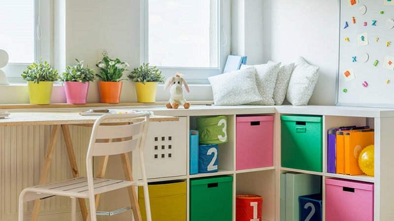 Come utilizzare i mobili salvaspazio nella cameretta dei bambini