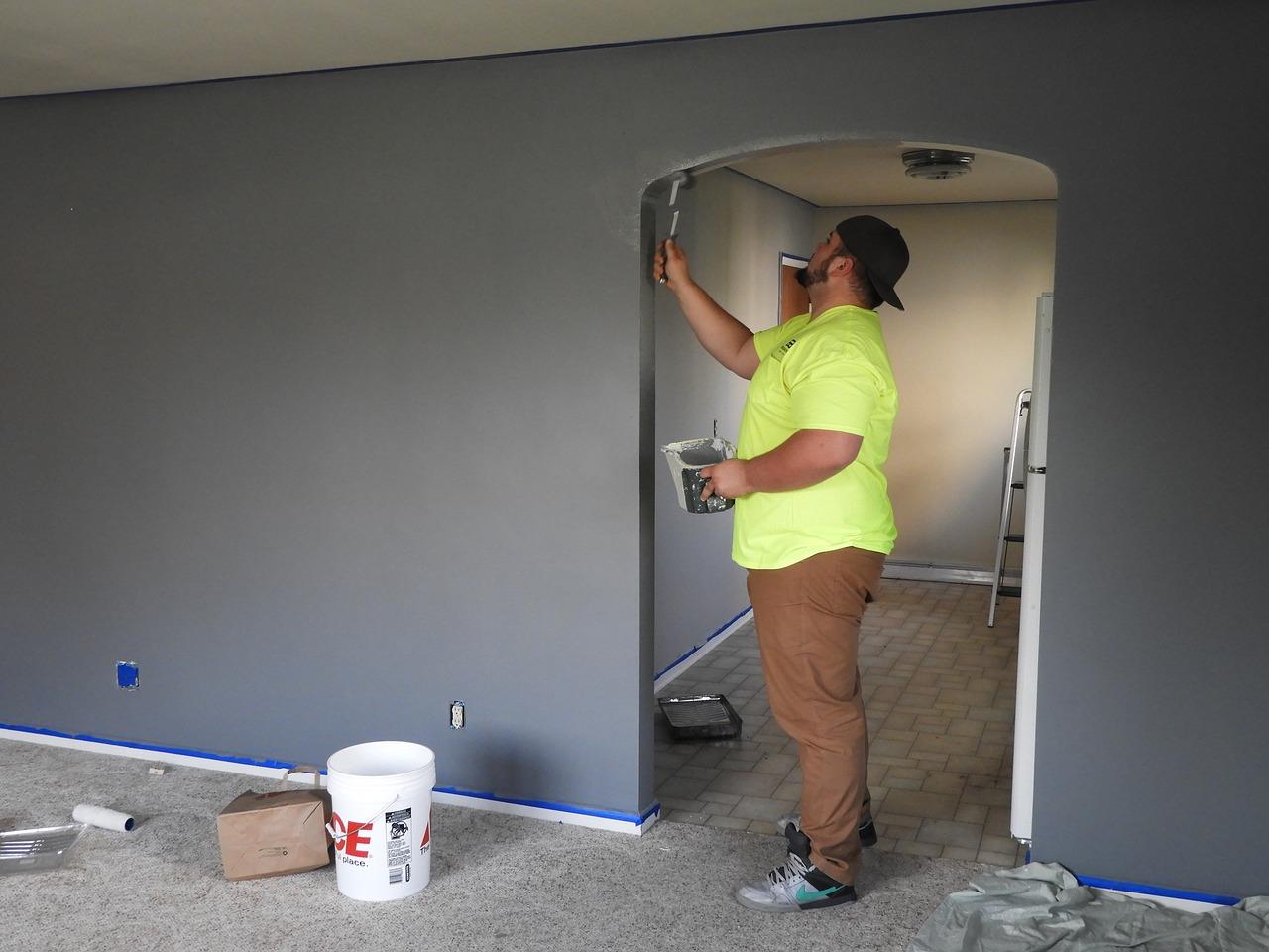 Nuove Pitture Per Appartamenti come imbiancare casa velocemente e da soli
