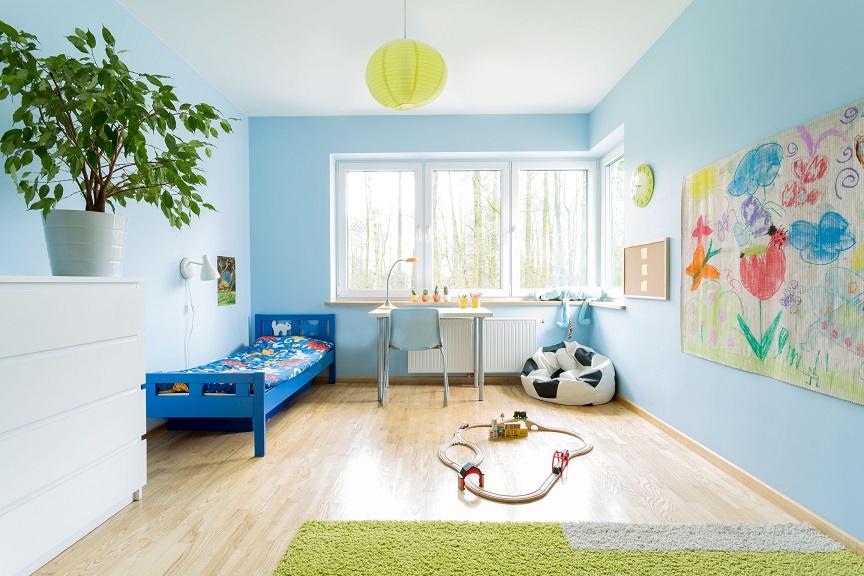 10 idee per dipingere la cameretta dei bambini