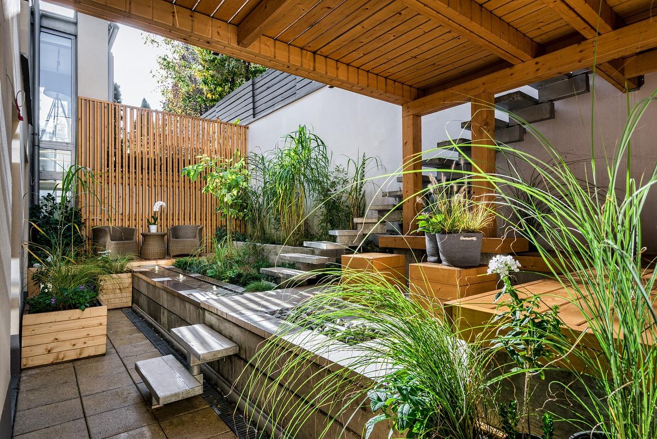 Come Recintare Un Giardino recinzioni per terrazzi: tutte le soluzioni per gli spazi