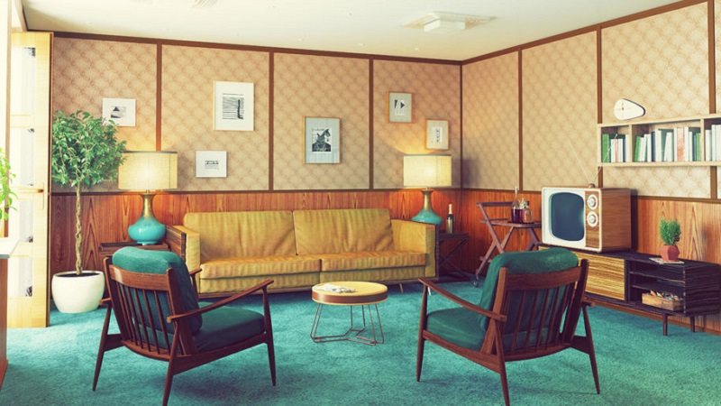 Arredamento anni 39 50 idee e consigli per una casa in for Preventivo arredamento casa