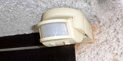 sensori di movimento in casa