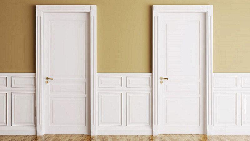 Porte avorio: come abbinarle al colore delle pareti?