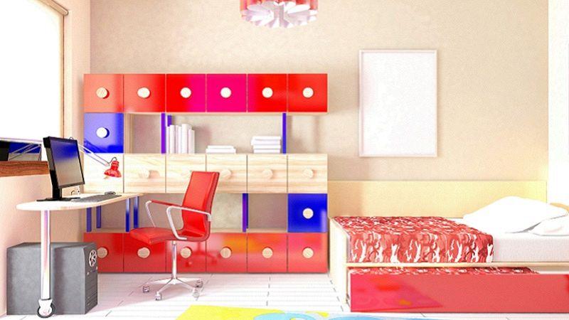 I colori perfetti per dipingere le pareti della cameretta
