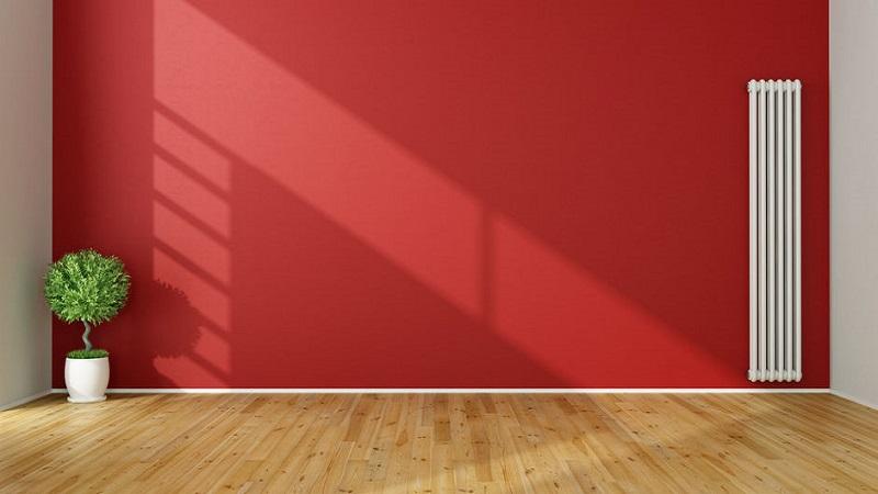 Parete rossa in casa cosa fare per non sbagliare for Parete rossa soggiorno