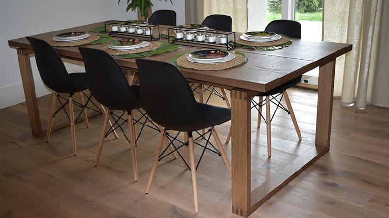 Costruire Un Tavolo Da Giardino In Legno.Tavoli In Legno Per La Cucina Quale Legno Scegliere