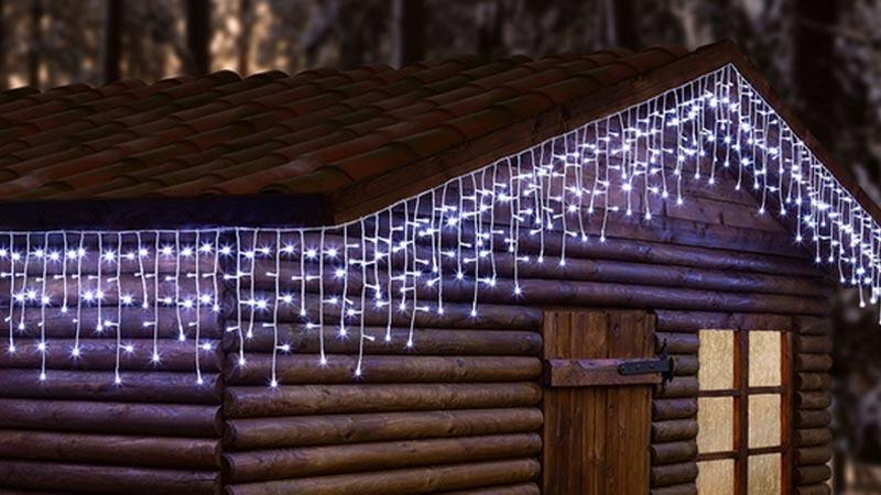 Illuminazione Esterna Natale : Luci di natale da esterno come risparmiare sulla bolletta