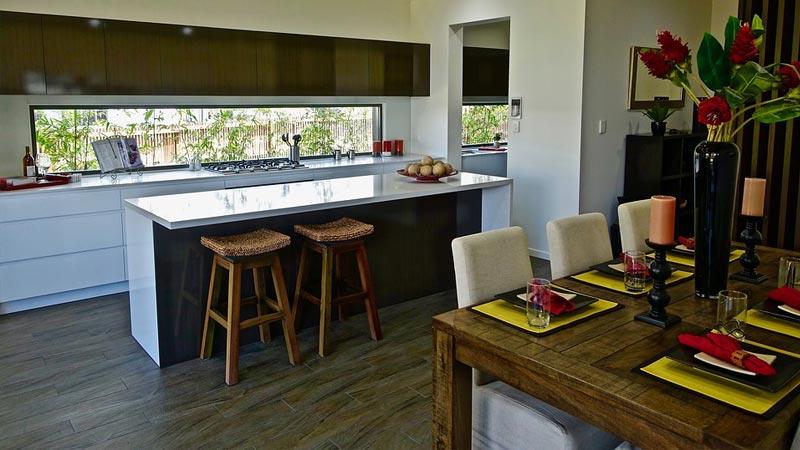 Cucina e soggiorno in 25 mq: come progettare lopen space