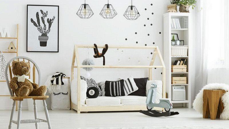 Un letto a casetta per la cameretta dei bambini