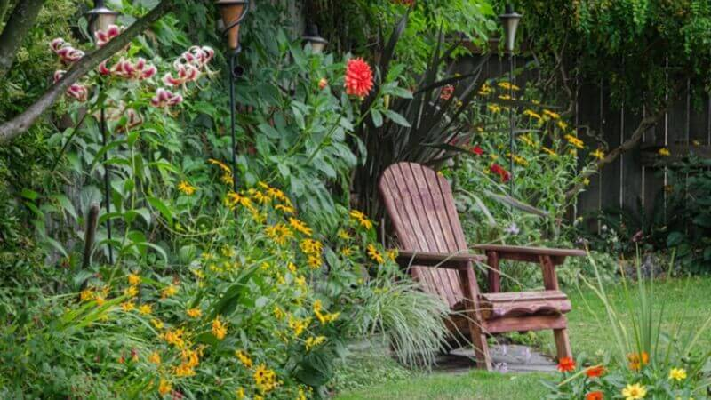 Progettare Il Giardino Gratis : Come arredare un giardino rustico