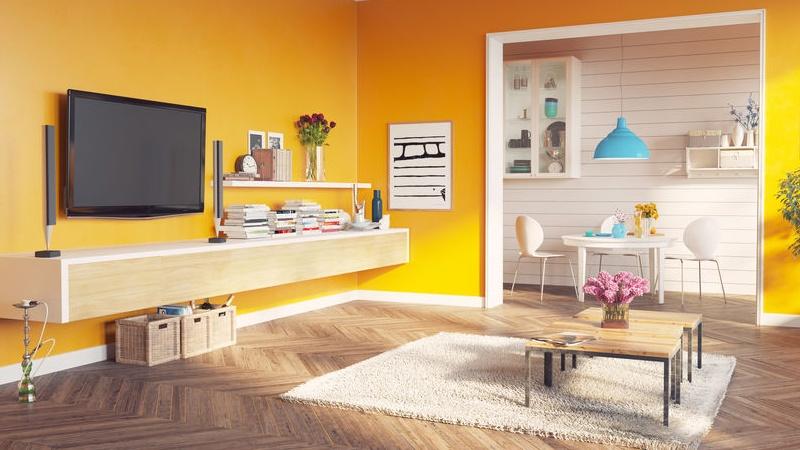 come usare il giallo in casa