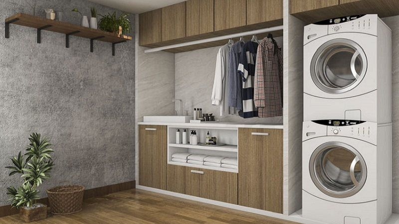 Mobili Per Lavatrici Ad Incasso.Come Scegliere I Mobili Da Lavanderia