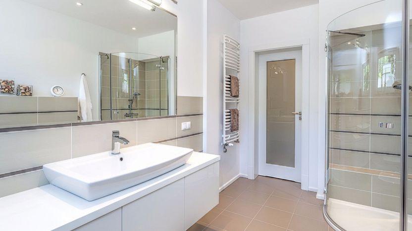 Distanza tra i sanitari del bagno