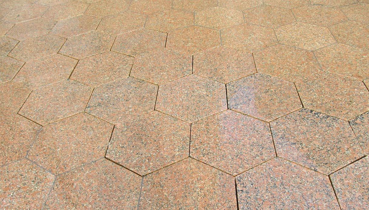 Piastrelle esagonali: il retrò che si fa moderno