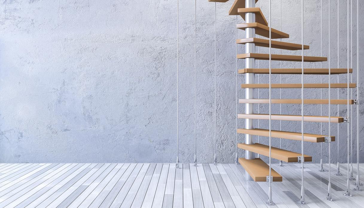 Rivestimenti Scale Interne Gres Porcellanato come rivestire una scala a chiocciola interna?
