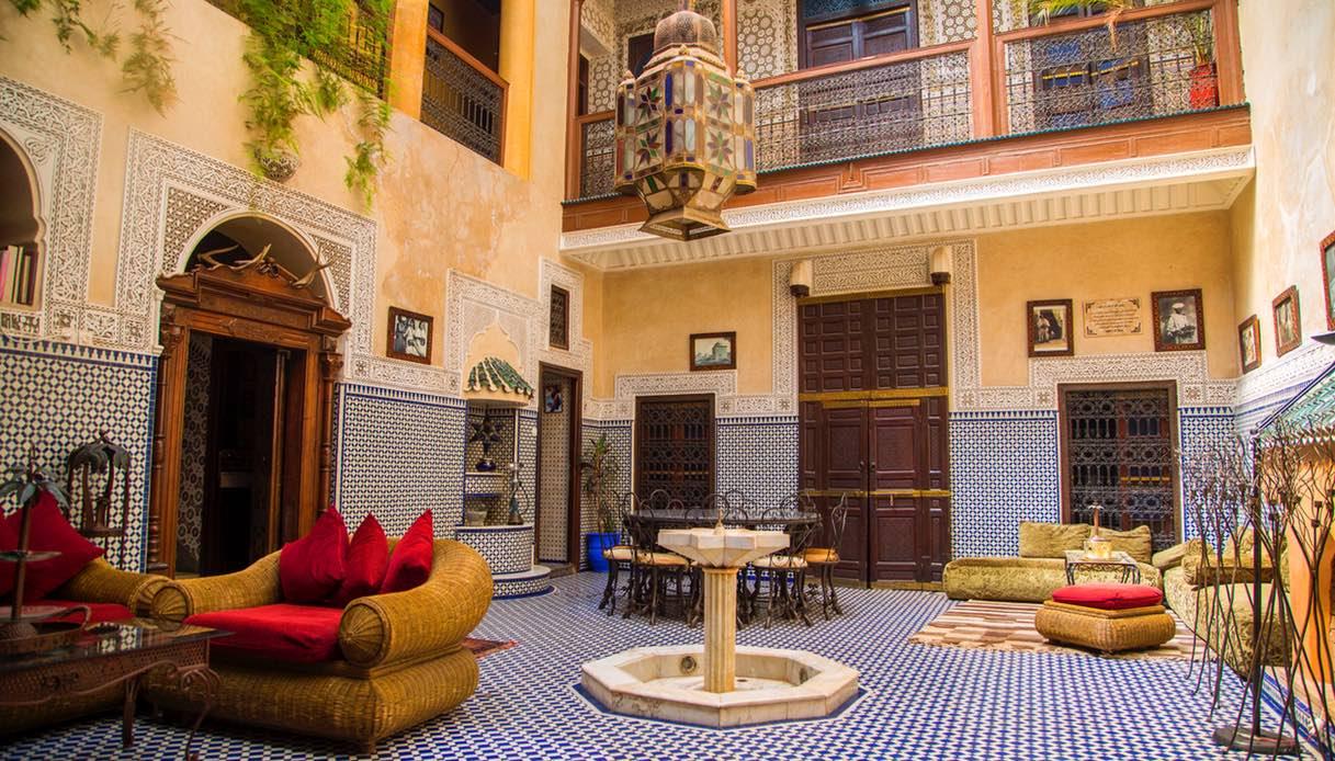 Arredare Casa Stile Marocco come arredare il terrazzo in stile marocchino
