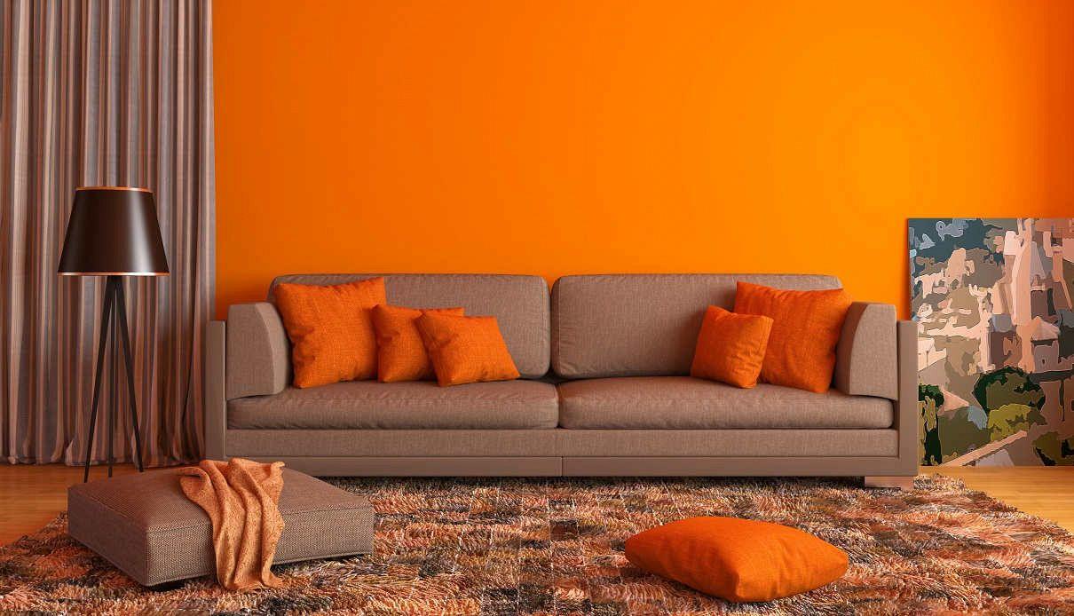 Pareti Di Casa Colori dipingere casa: i colori di tendenza quest'autunno