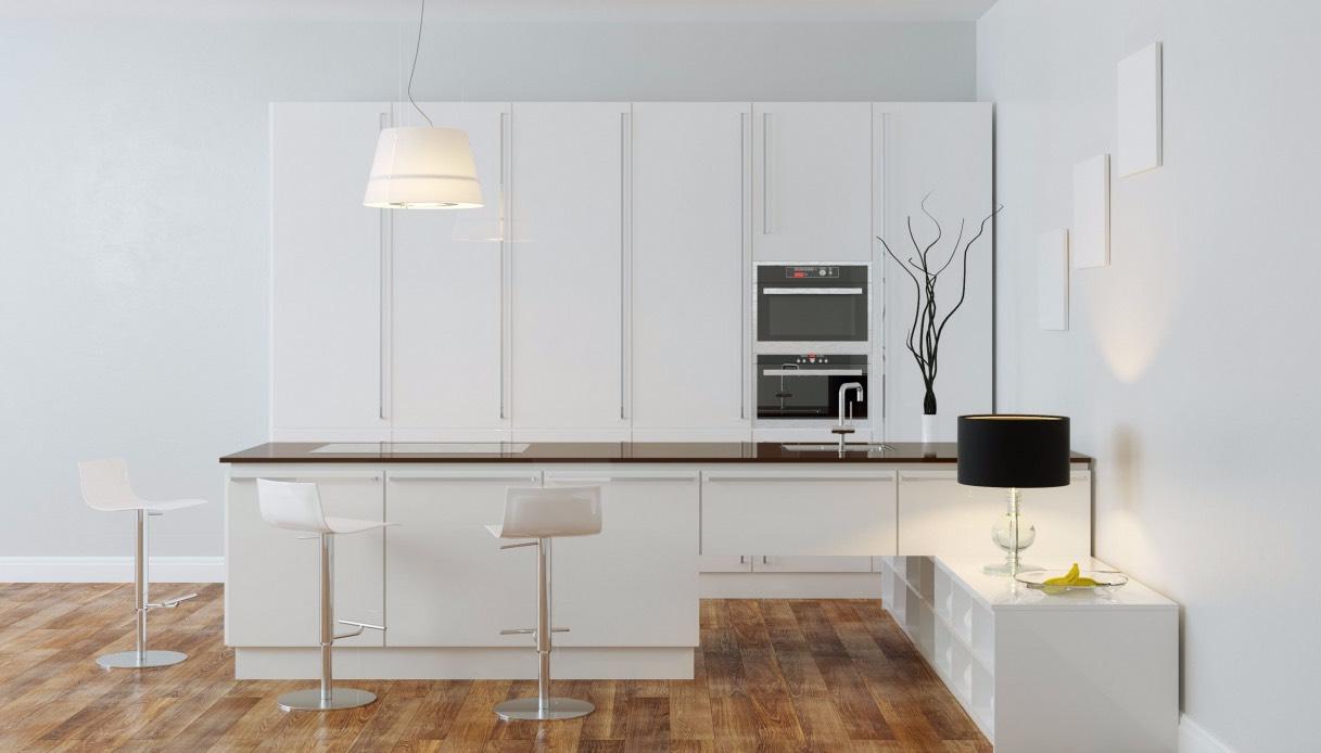 Cucine A Muro Foto come scegliere un tavolo a muro per la cucina
