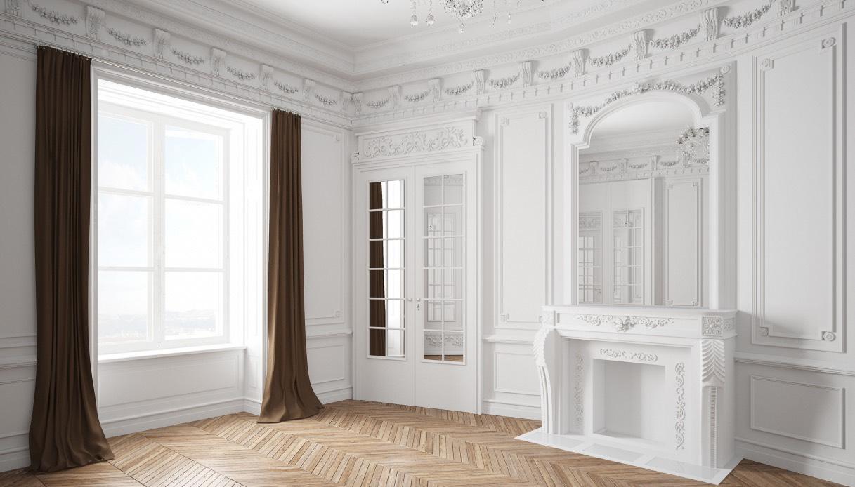 Cornici Gesso Per Pareti stucchi decorativi: 5 ispirazioni