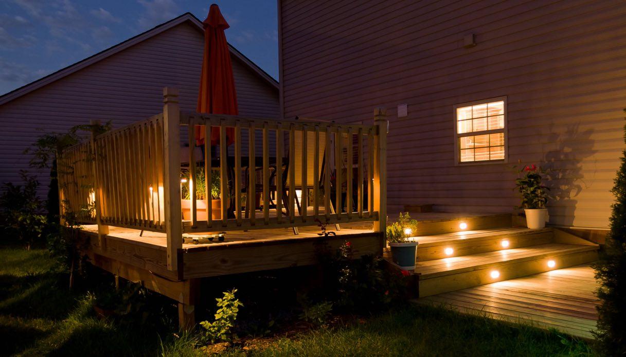 Lampade Per Porticati Esterni le luci da esterno? sceglile a led per risparmiare