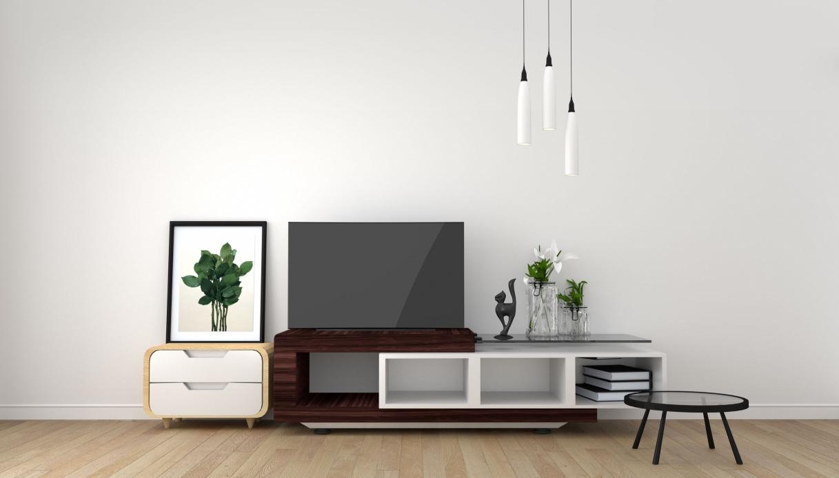 Mobiletto Per Appoggiare Microonde come scegliere il mobile per la tv