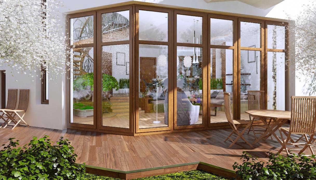 Chiudere Un Terrazzo In Muratura verande in vetro per balconi: tipologie, costi e permessi