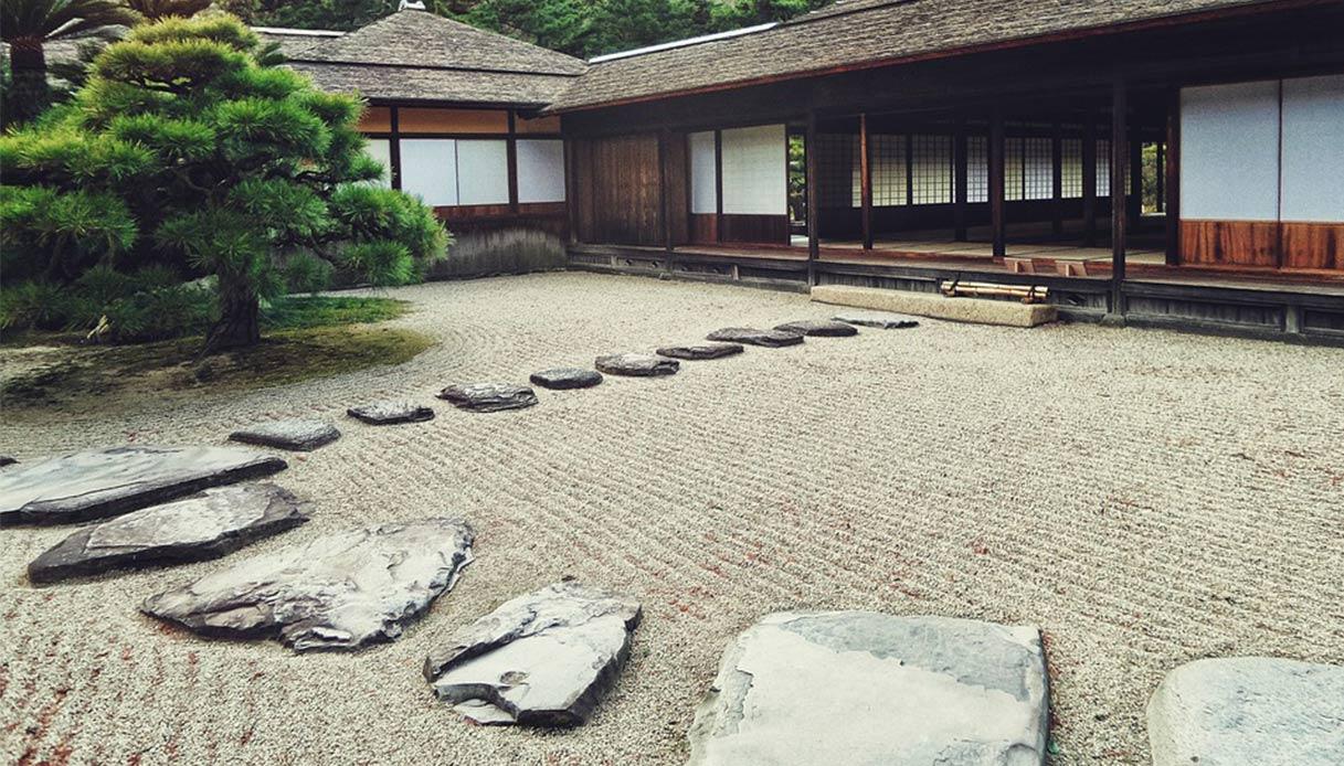 Docce Per Esterni E Giardini come posare i passi giapponesi in giardino
