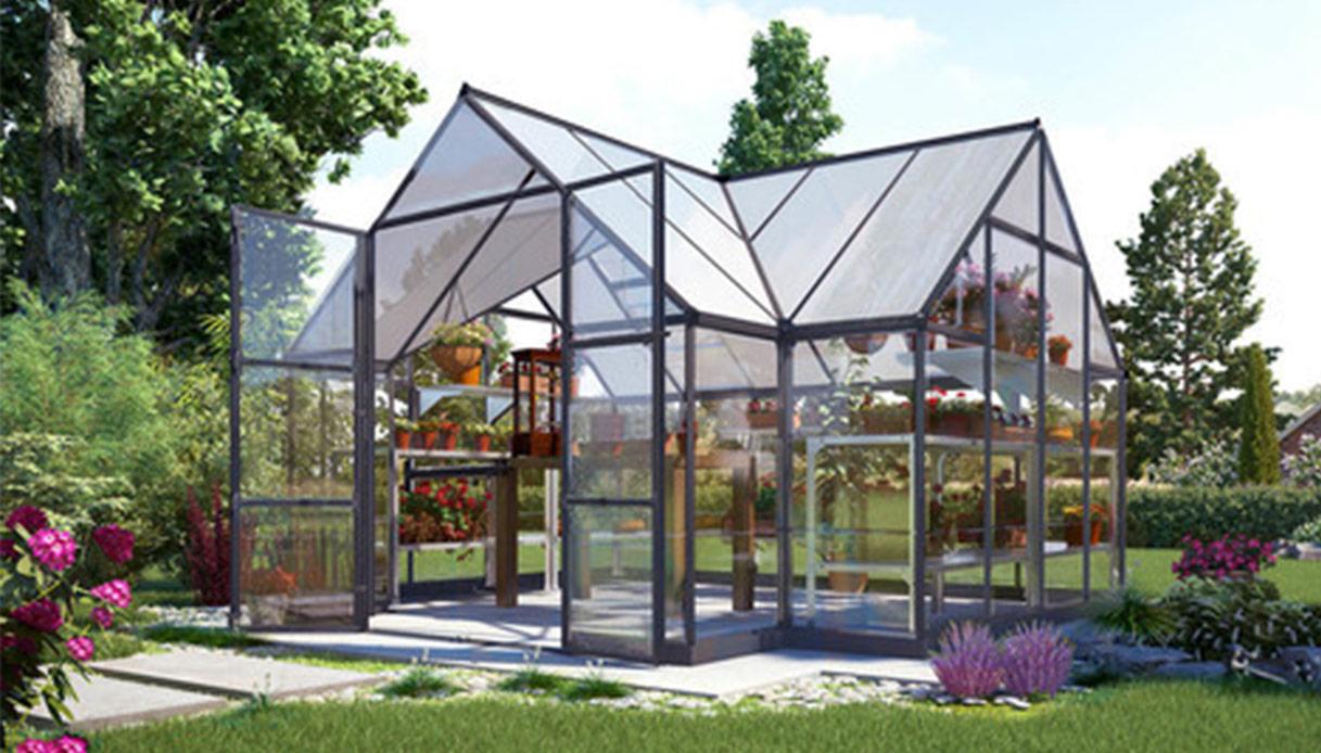 Piccole Serre Da Casa serra in vetro: caratteristiche, prezzi, consigli