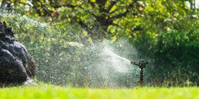 impianto di irrigazione giardino